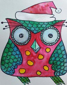 Christmas who owl