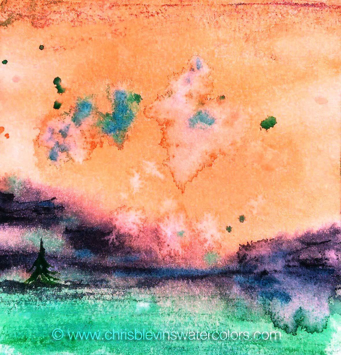 sunbanks lonely tree landscape
